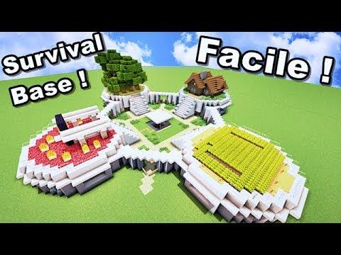 Survival Base Moderne Facile A Faire Sur Minecraft