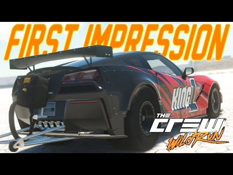 The Crew Wild Run First Impression : MONSTER TRUCK BACKFLIPS, CORVETTE DRAG RACING & SUBARU DRIFTING