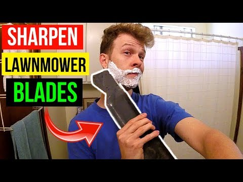 How To Sharpen & Balance your Lawn Mower Blade -Jonny DIY