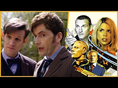 Russell T Davies & Steven Moffat Talk Rose and The Day of the Doctor | Doctor Who