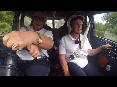 Communication - Rally Drivers Bron Burrell and Tina Kerridge-Reynolds