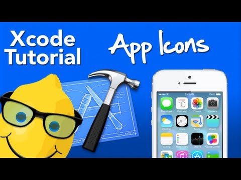 XCode Tutorial App Icon create and install - Geeky Lemon Development