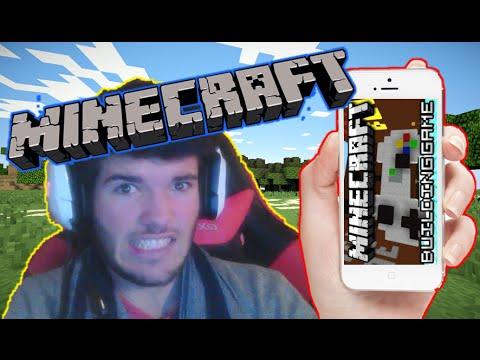 BUILDING GAME SUR IPHONE ! :O HYPIXEL MINECRAFT POCKET EDITION FRANCAIS