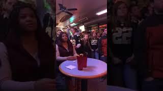Saints bar reaction to Vikings Playoff Game