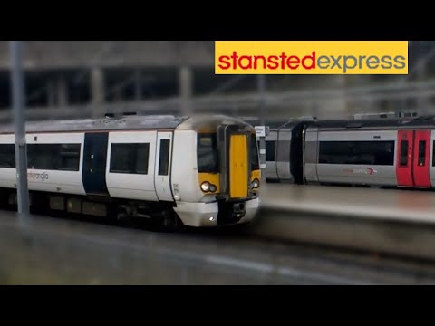 Trains at London Stansted Airport Station