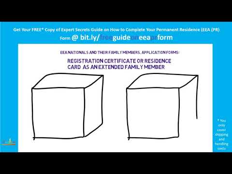 ЕU law, Application Forms: Registration Certificate or Residence Card as an Extended Family Member