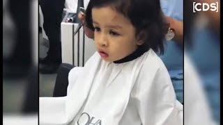 MS Dhoni Daughter Ziva Dhoni Haircut Video Goes Viral