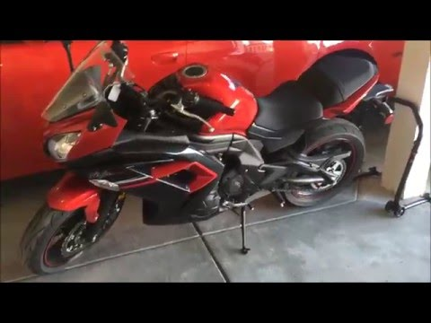 Plasti Dipping Motorcycle Windscreen - 2016 Ninja 650