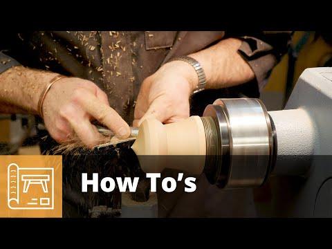 How to create a bespoke turned box - Demo by Jason Breach