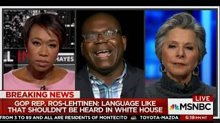 Dr. Johnson talks #Trump the #White #Nationalist #Shithole #Country #Immigration #Comments