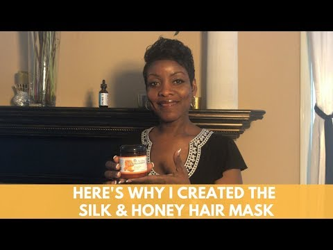 Here's Why I Created the Silk & Honey Hair Mask For Dry Hair