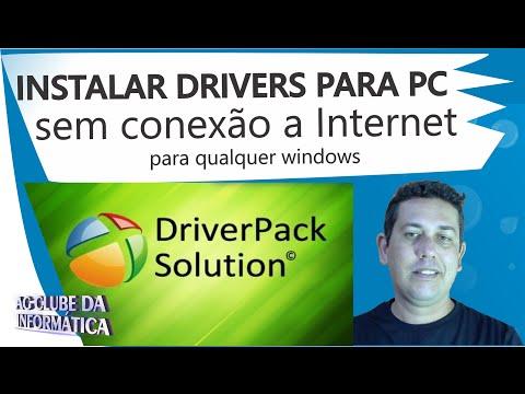 Como instalar todos drivers para PC sem conexão a Internet (Offline)