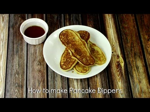 HOW TO MAKE PANCAKE DIPPERS: EASTER BRUNCH RECIPE