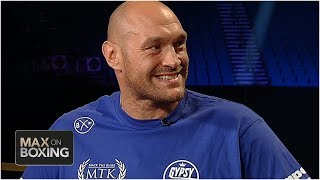 Tyson Fury: I'll put on a masterclass vs. Tom Schwarz | Max on Boxing | Top Rank Boxing