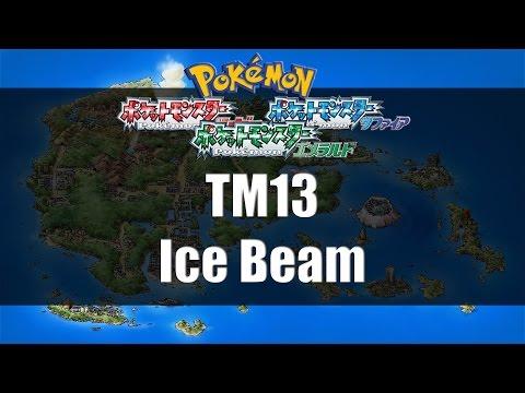 Pokemon Ruby/Sapphire/Emerald - Where to find TM13 Ice Beam