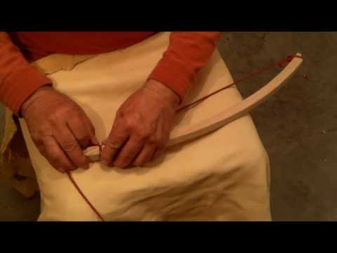Primitive Fire - How to String a Fire Bow