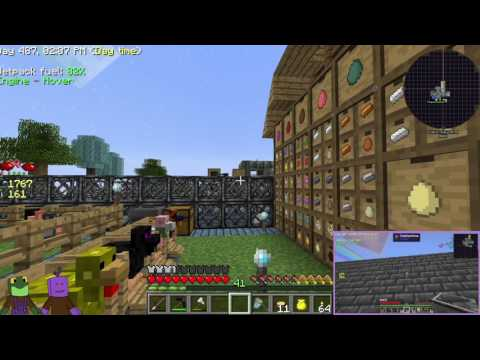 Minecraft Sky Factory 3 E17 Uranium Chicken