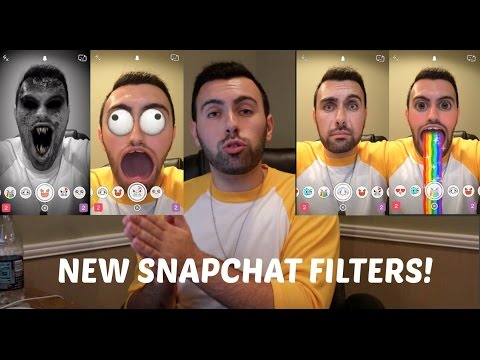 How to Use The New Animated Snapchat Filters!
