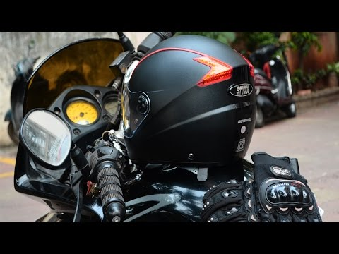 STUDDS PROFESSIONAL FULL FACE HELMET REVIEW