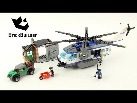 Lego City 60046 Helicopter Surveillance - Lego Speed Build