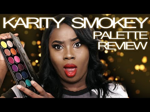 Karity Smokey Palette Review | Who is Karity? & Why You Need This Palette (21 Beautiful Swatches)