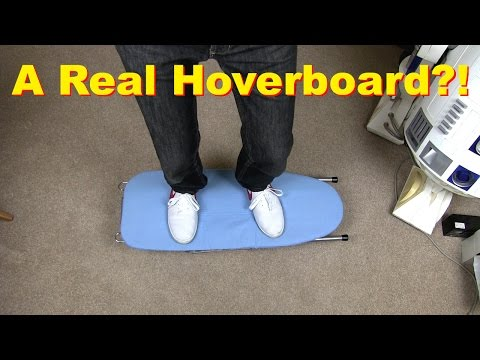 XRobots - How To Build a Real Hoverboard, with actual science and testing!