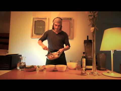 Flax seeds bread with Diego Castro in Buenos Aires Argentina