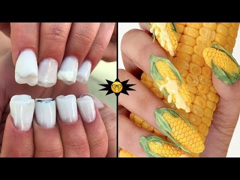 Most Amazing Nail Designs Ever Seen | Bizarre Trends