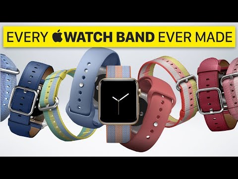 Every Apple Watch Band Ever Made