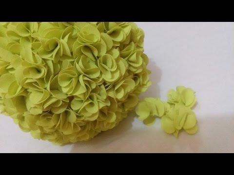 DIY Flower Ball - Tissue Flower for wedding decorations