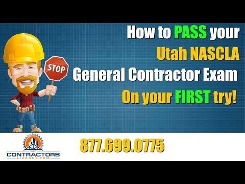 Utah General Contractor Exam Prep Course 🔨 🔨