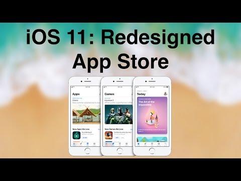 iOS 11: Redesigned App Store