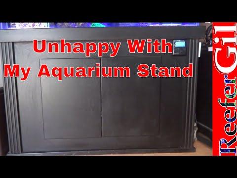 Aquarium Cabinet Modification