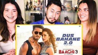 BAAGHI 3: DUS BAHANE 2.0 | Vishal & Shekhar FEAT. KK, Shaan & Tulsi Kumar | Music Video Reaction