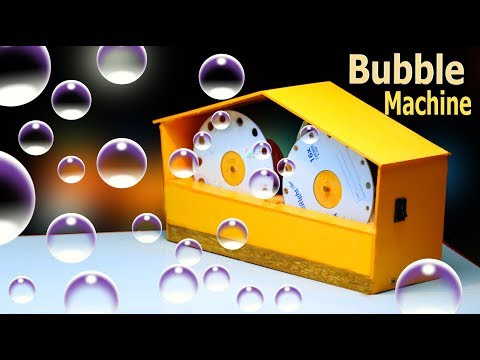 How To Make a Bubble Machine|| easy way
