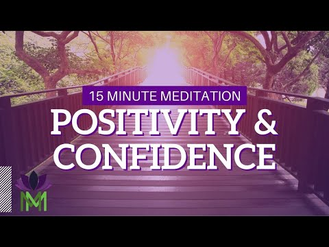 15 Minute Meditation for Stress Relief and Building Confidence