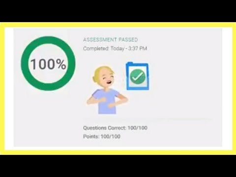 Google AdWords Search Certification Advertising Assessment Exam Answers Live Pass✅2018✅100% Correct✅