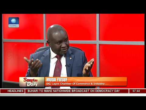 Muda Yusuf Examines APC Govt's Economic Policies, Three Years In Office Pt.1  Sunrise Daily 