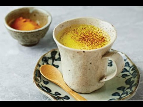 Golden milk - Turmeric, Coconut oil and Milk / recipe / Natural Master No.1