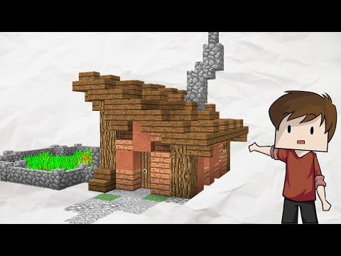 Small and Simple Minecraft House Tutorial!