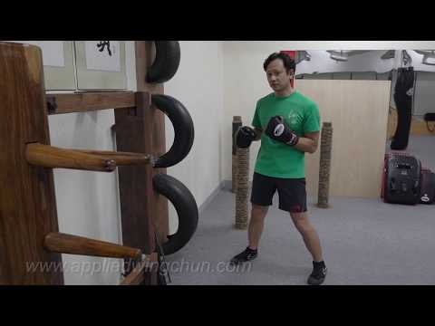 Tire Dummy Workout: Solo punching sets 1