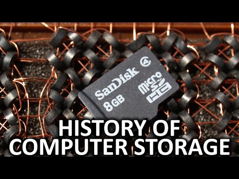The History of Computer Storage