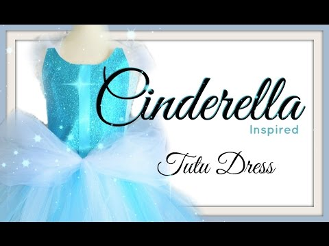 Cinderella Tutu Dress - DIY
