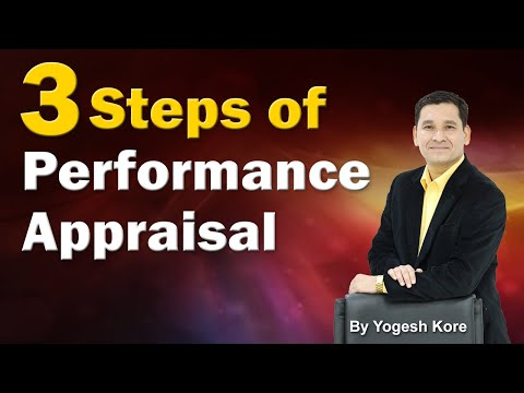 Three Steps of Performance Appraisal - Training for Manager in Hindi & Urdu