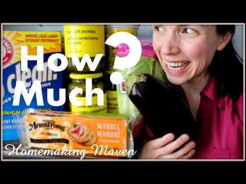 Monthly Grocery HAUL! | Grocery Saving Tips | Homemaking Maven