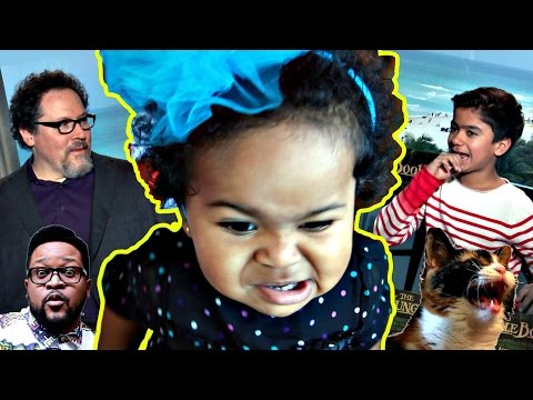 Jungle Book Guide to Toddler Takeover | ft. Jon Favreau and Neel Sethi
