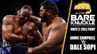 BKFC 2 Full Fight: Pro Boxer vs. Mixed Martial Artist   Campbell vs. Sopi