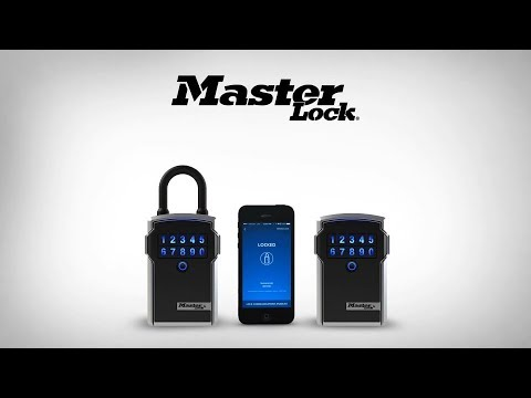 New Master Lock® Bluetooth® Lock Boxes Informational Video
