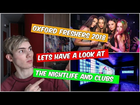 Oxford Fresher's Week (Brookes University)|Clubs and Nightlife