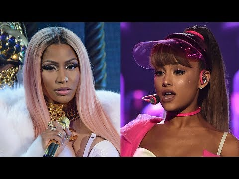 Ariana Grande TEASES Nicki Minaj Collab